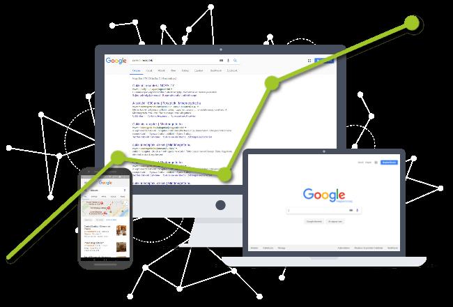 Google keresőoptimalizálás - illusztráció
