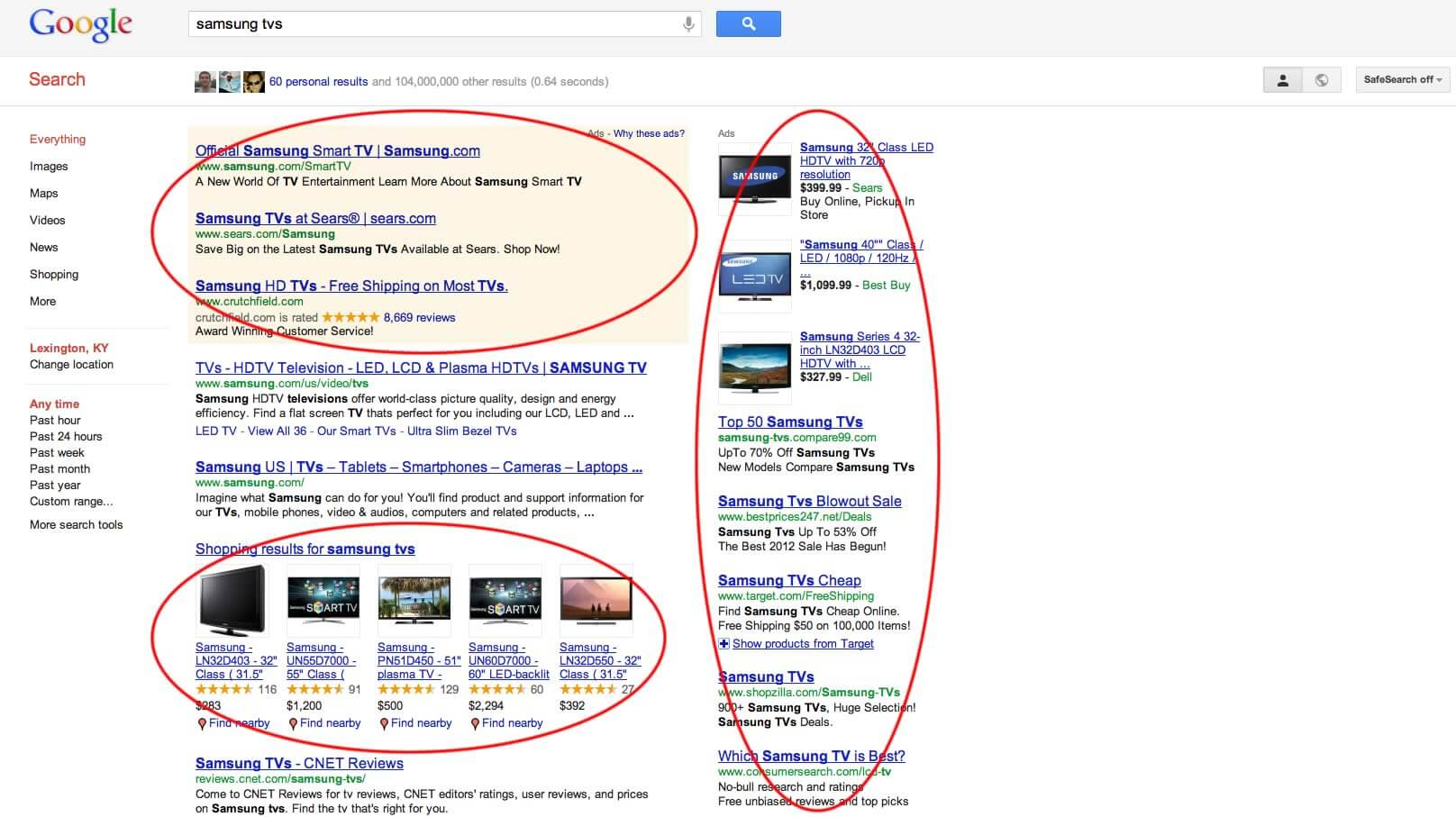 A Google vajon magát is bünteti?